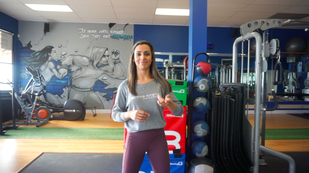 Kinesiologist standing inside Personal Training studio Capitol Hill Athletics in Burnaby